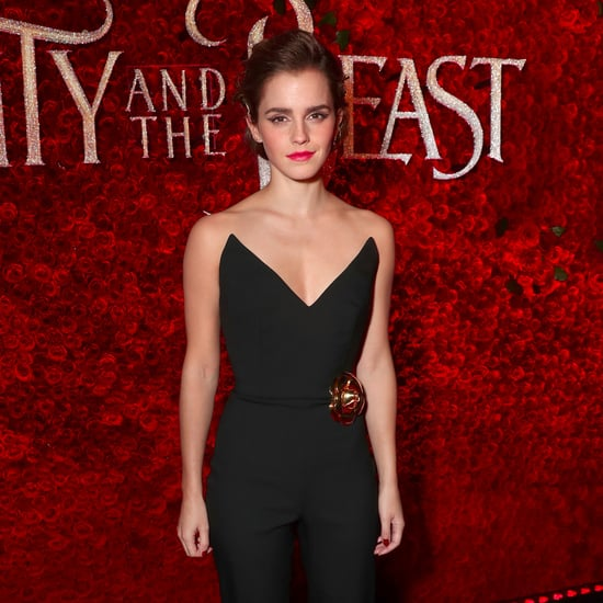 Emma Watson Wearing Oscar de la Renta Jumpsuit March 2017