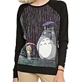 Totoro at the Bus Stop Pullover ($33-$37)
