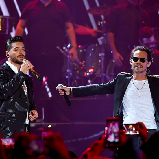 "Maluma and Marc Anthony's ""Felices los 4"" Performance"
