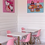 Hello Kitty Grand Cafe in Irvine, California, Pictures