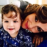 """Alyssa Milano shared some beautiful words for Elizabella, """"Dear Daughter, If I could give you one thing in life, I would give you the ability to see yourself through my eyes."""""""