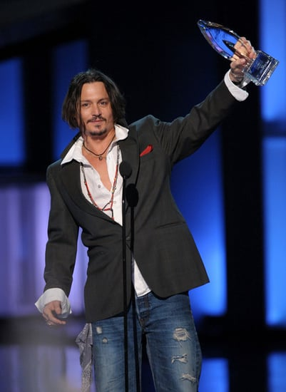 Johnny Depp at the 2010 People's Choice Awards