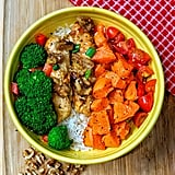 Honey Mustard Walnut Chicken Bowl