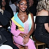 Marsai Martin at the Christian Siriano New York Fashion Week Show