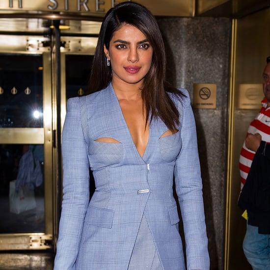 Priyanka Chopra's Dion Lee Cutout Suit
