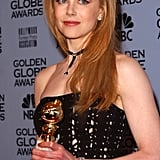 Nicole Kidman With Straight, Red Hair in 2002