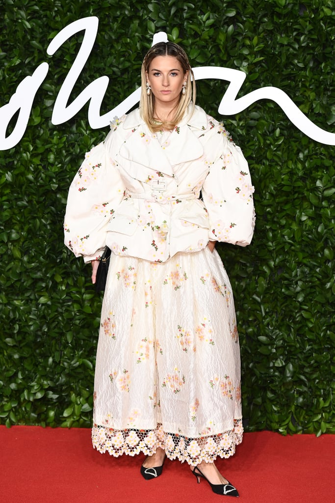 Camille Charriere at the British Fashion Awards 2019 in London