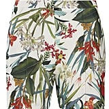 Dorothy Perkins tropical print shorts (£22)