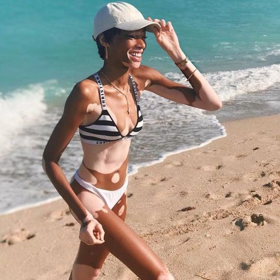 Winnie Harlow's Dior Bikini