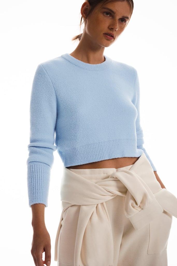 Zara Soft Feel Cropped Sweater