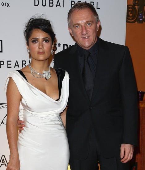 Pinault Denies Paternity, But May Be Engaged