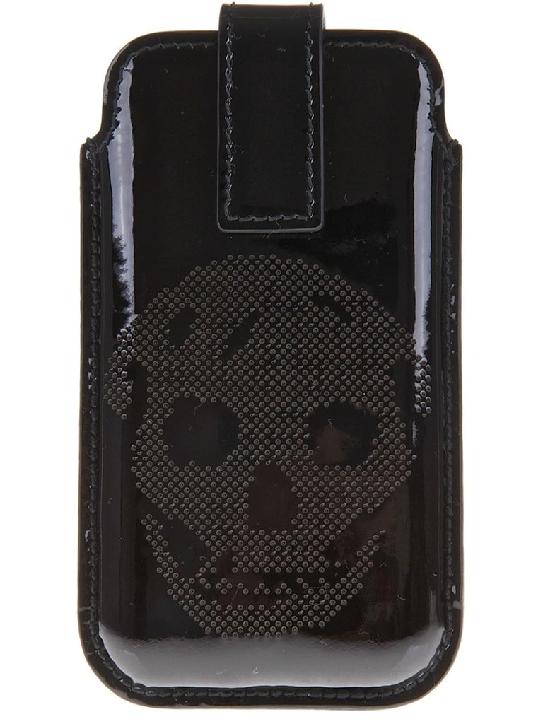 Alexander McQueen Perforated Skull iPhone Case