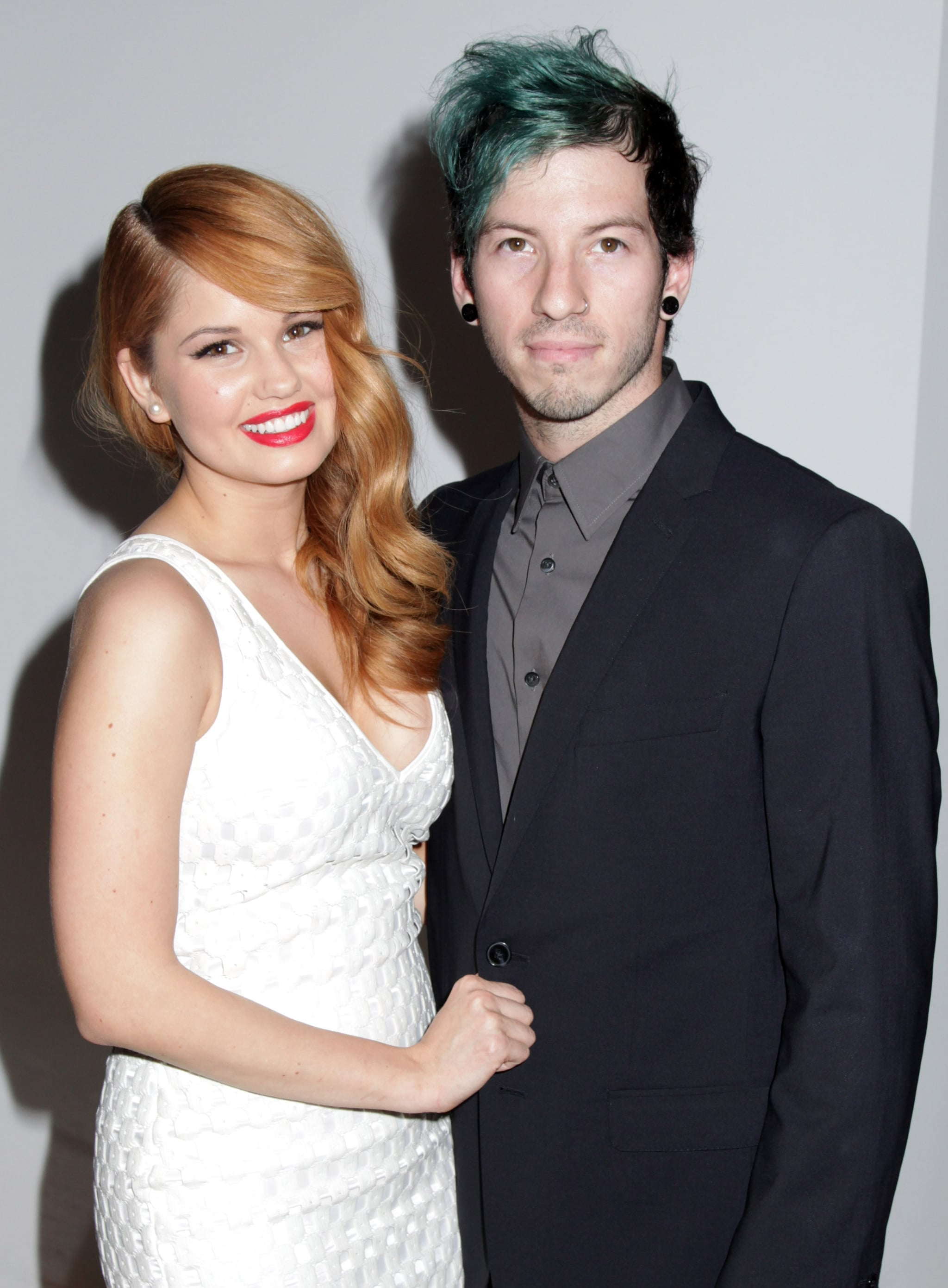 BEVERLY HILLS, CA - MARCH 18:  Actress Debby Ryan and musician Josh Dun arriving at the 2nd Annual Norma Jean Gala 2014 at The Paley Centre for Media on March 18, 2014 in Beverly Hills, California.  (Photo by Paul Redmond/WireImage)