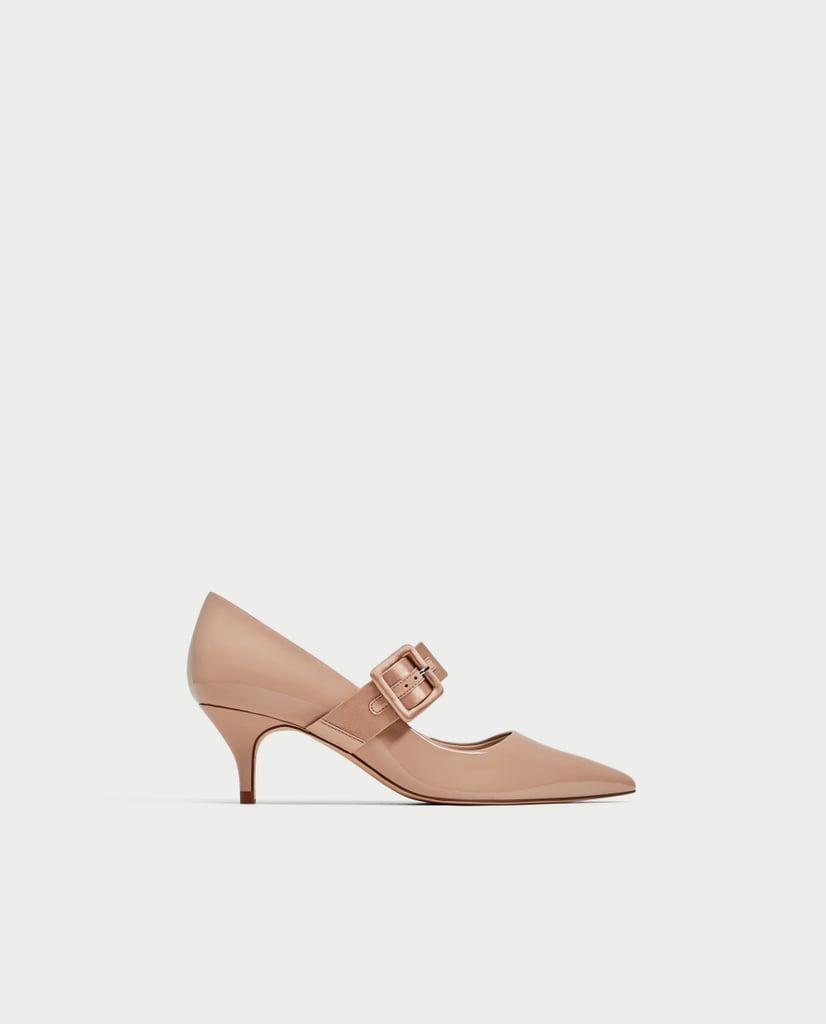 Zara High-Heel Court Shoes