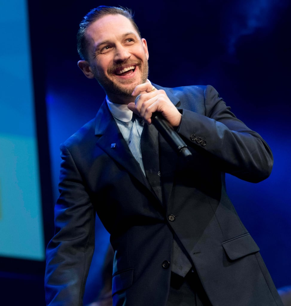 Tom Hardy Receives Queen's Honours 2018