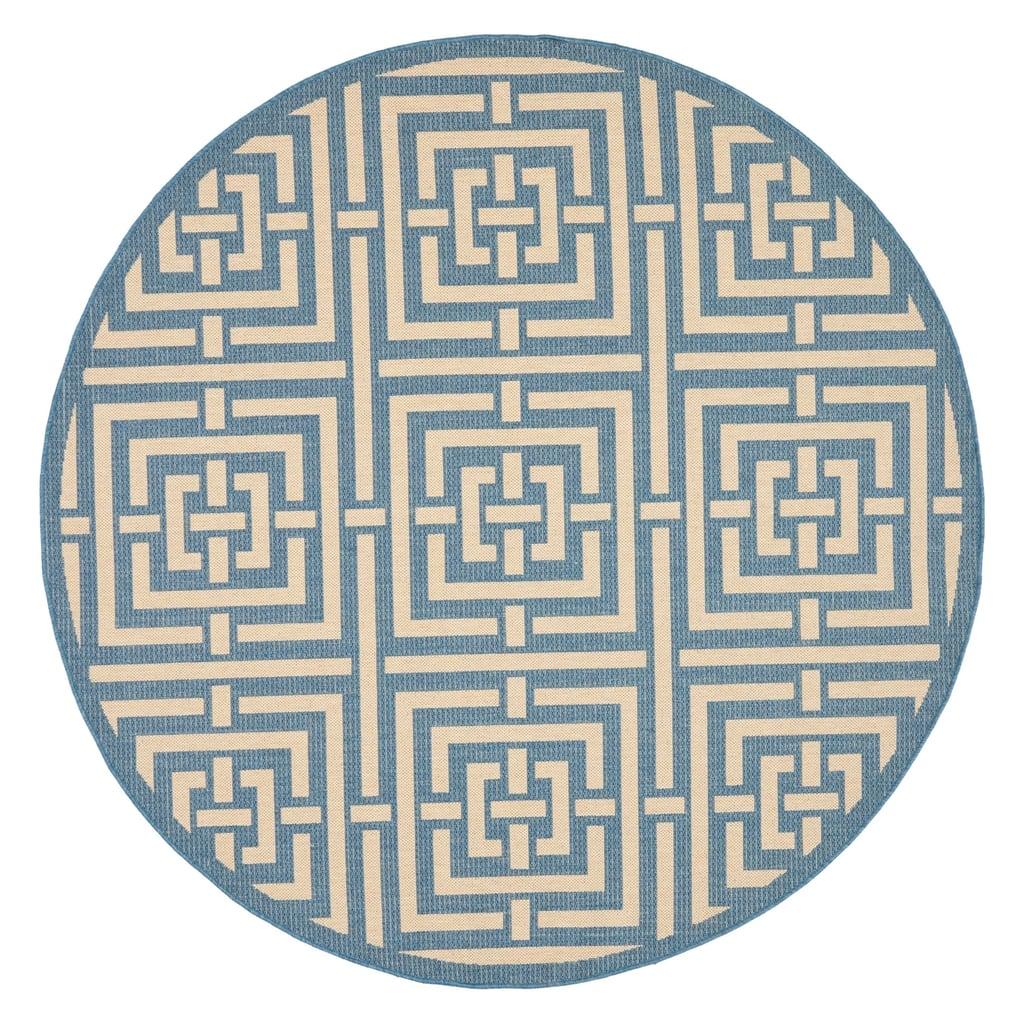 Calypso Geometric Patio Rug