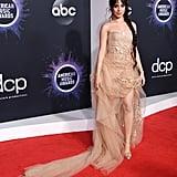 Camila Cabello in Oscar de la Renta at the 2019 AMAs