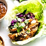 Sticky Chinese BBQ Pork Lettuce Wraps
