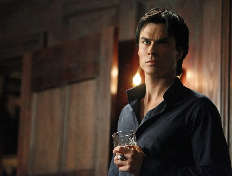 Ian Somerhalder's Sexiest Smolders From The Vampire Diaries