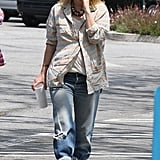 Drew Barrymore went for a stroll.