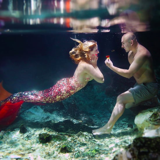Underwater Mermaid Proposal