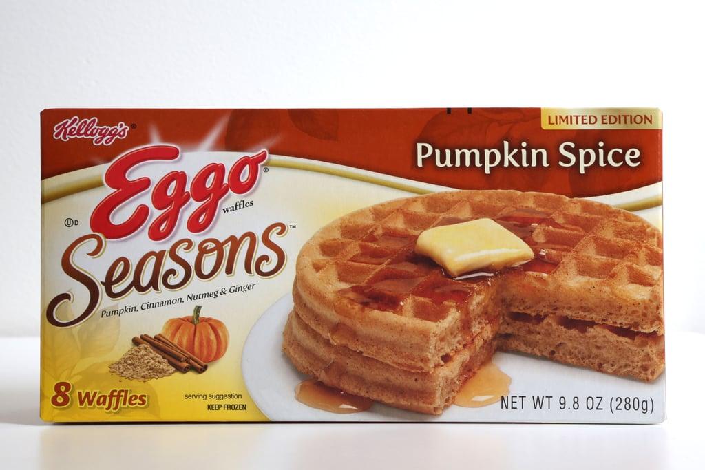 Eggo Seasons Pumpkin Spice