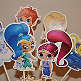 Shimmer and Shine Cake Toppers