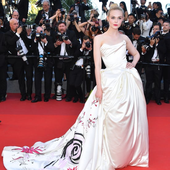 Elle Fanning's Grace Kelly Dress at Cannes Film Festval