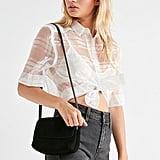 Margot Suede Crossbody Bag