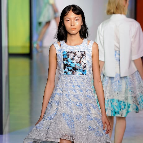 2014 Spring London Fashion Week Runway Peter Pilotto