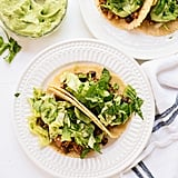 Quinoa Black Bean Tacos With a Creamy Avocado Sauce