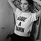 """The Deep End Club, founded by drummer and activist Tennessee Thomas, is a """"hub for artists and activists to work together to find creative solutions to the world's problems."""" Want in? Show you care with The Deep End Club Give A Damn T-Shirt ($45)."""
