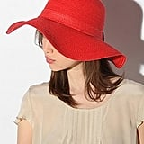 Pins and Needles Basic Straw Floppy Hat ($29)