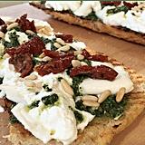 Giada De Laurentiis's Burrata and Kale Salsa Verde Bruschetta