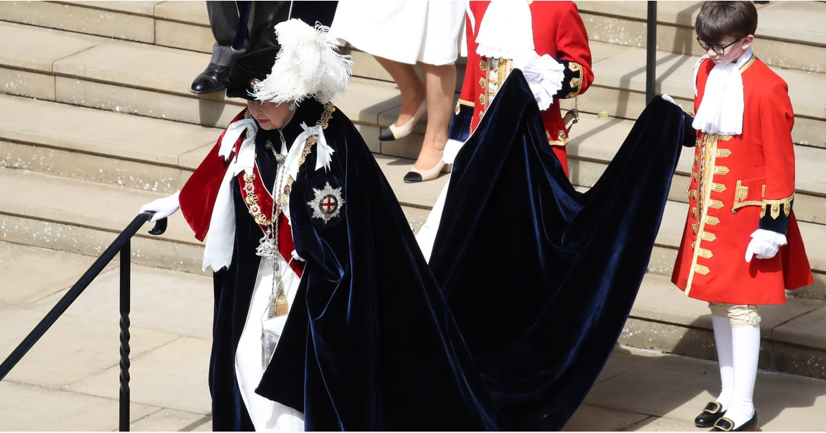 The Queen Is Surrounded by Family (and Feathers) at the Garter Day Ceremony
