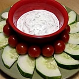 Nonfat Yogurt Dill Dip With Veggies