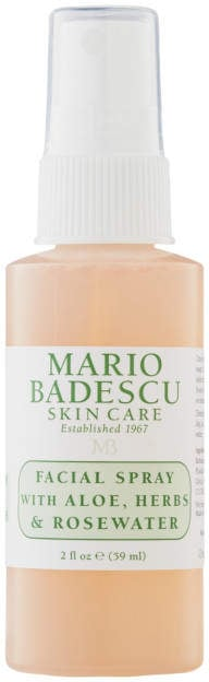 Mario Badescu Travel-Size Facial Spray With Aloe, Herbs and Rosewater