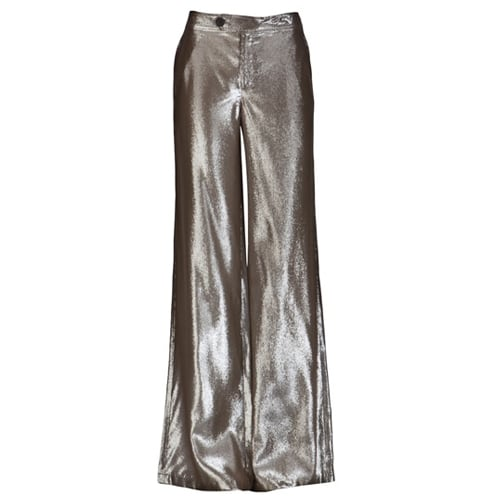 These 10 Crosby By Derek Lam Wide Leg Trousers ($325) would look exceptionally sleek with a silk camisole, statement jewels, and metallic sandals.
