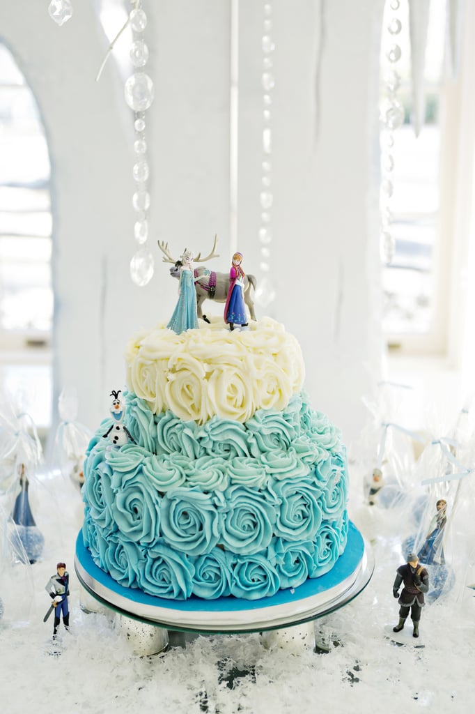 Frozen Themed Birthday Party Popsugar Family