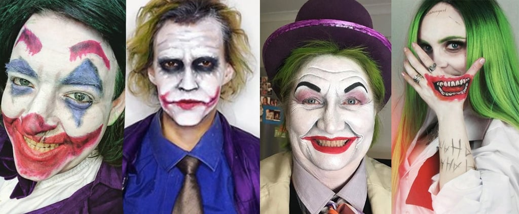 Female Joker Halloween Makeup Ideas