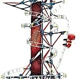 K'NEX Thrill Rides Web Weaver Roller Coaster Building Set
