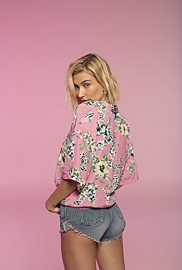 Hailey Baldwin Levi's Jeans Collaboration 2019