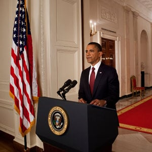 President Obama's Osama bin Laden Speech on Ustream