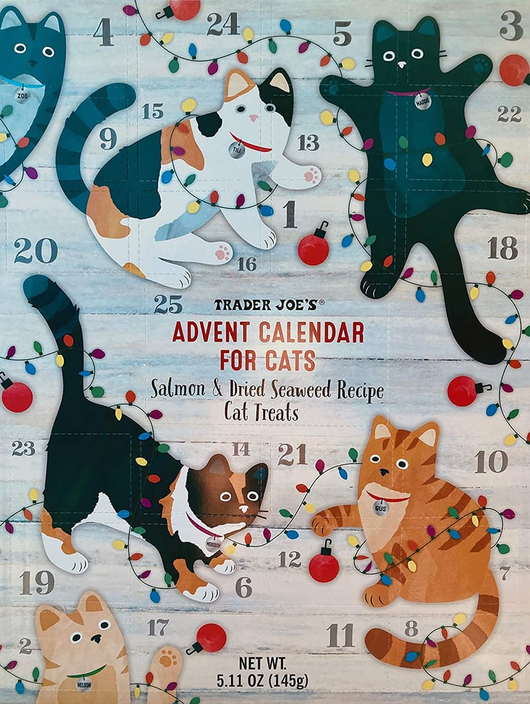 Trader Joe's Advent Calendar For Cats