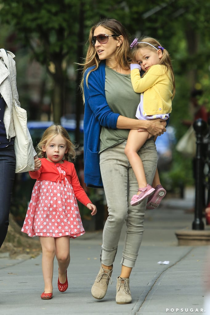Sarah Jessica Parker Kicks Off Her Day With a Double School Run