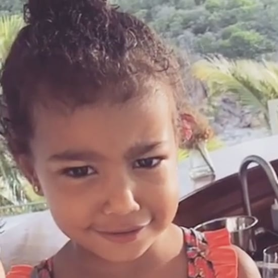 Kim Kardashian's Birthday Instagram Video of North West