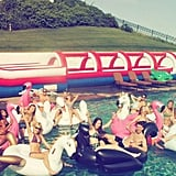 """Taylor Swift and Her """"Swan Squad"""""""