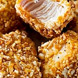Pretzel Crusted Chicken Bites