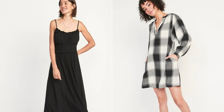 22 Old Navy Fall Dresses That'll Look Cute All the Way to the New Year (For Under $50!)