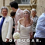 Mark Ronson and Josephine de la Baume had a September 2011 wedding in France.